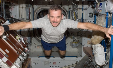 Chris Hadfield: «Habría que vivir en la Luna antes que en Marte»