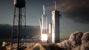 Lanzamiento del Falcon Heavy