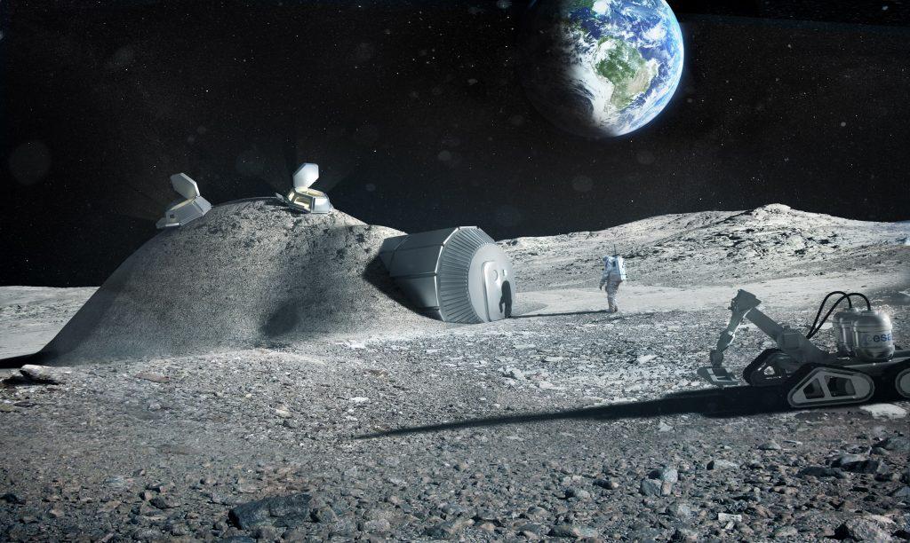 Aunque la Luna está encogiendo, no supone un peligro para su posible colonización en el futuro.