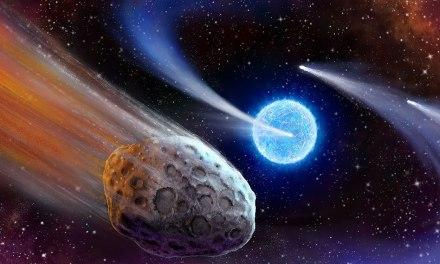 Exocometas detectados alrededor de otra estrella