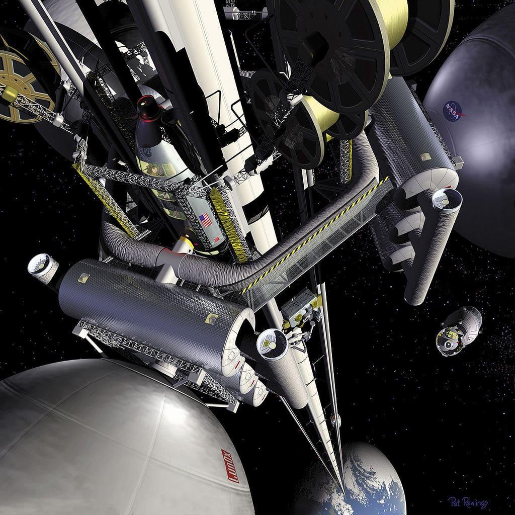 Spaceline: un ascensor de la Tierra a la Luna