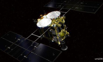 Hayabusa2 entra en la órbita del asteroide Ryugu