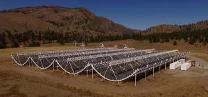 Un radiotelescopio canadiense detecta ráfagas rápidas de radio