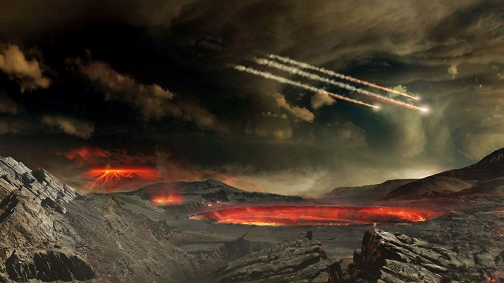 El eón Hádico ofreció el entorno para que esos 20 aminoácidos diesen lugar al origen de la vida...