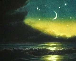 Schilderij van Jameson van smalle maansikkel