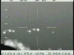 UFO's achtervolgt door de luchtmacht?