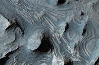 Lavastromen op Candor Chasma
