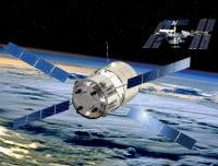 Zo zullen ISS en ATV Jules Verne 3 april weer bij elkaar komen