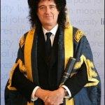Brian May kanselier Universiteit van Liverpool