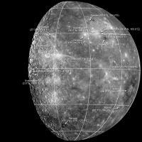 Een aantal van de nieuwe namen op Mercurius