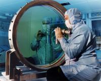 Spiegel die gebruikt wordt in de Vulcan laser