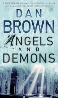 Omslag van het boek Angels & demons van Dan Brown