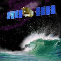 Jason-2 gaat de hoogte van de zeespiegel nauwkeurig meten