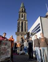 Het winnende Team Barthel van de Rijksuniversiteit Groningen