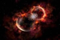 Uitdijende nevels rondom Eta Carinae