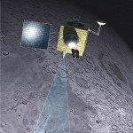 Chandrayaan-1 in baan om de Maan