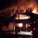 Brand in warenhuis door meteorietinslag?
