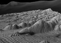 Gesteentelagen op Mars