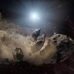 afgebrokkelde planetoïden bij witte dwergen gezien
