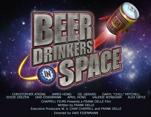 Beer drinkers in space!