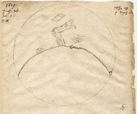 De maantekening van Harriot uit 1609