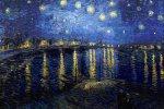 Van Gogh's sterren hangen in 't museum