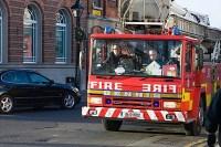 De brandweer van Dublin