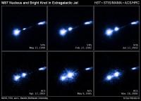 Opvlammingen in M87