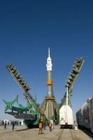 De Soyuz is er klaar voor