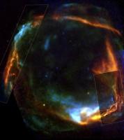 RCW 86, bron van kosmische straling