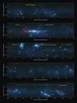 Een atlas van koude stof in de Melkweg