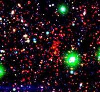 Een door SpARCS ontdekte cluster