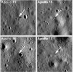 LRO fotografeert Apollo-maanlanders!