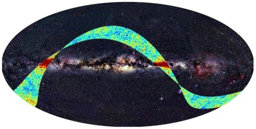 De eerste foto van Planck is binnen!