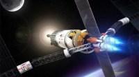 Impressie van een Vasimr-raket