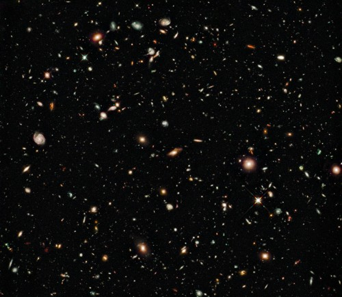 De Hubble Deep Field 09