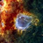 Herschel ziet zware bevalling in RCW 120