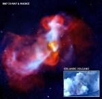 'Supervulkaan' M87 in actie