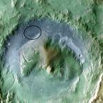 Marsrover Curiosity gaat waarschijnlijk in de Gale krater landen
