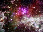Massieve sterren in NGC 281, alias de Pacman Nevel