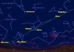 Alle zeven planeten zijn in één nacht te zien!