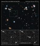 Hubble ontdekt op recordafstand Supernova Primo