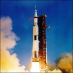 Vandaag precies 43 jaar geleden: de lancering van de Apollo 11