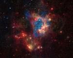 Chandra en Spitzer brengen superbubbel NGC 1929 in N44 in beeld