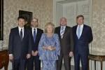 André Kuipers is op visite bij Koningin Beatrix geweest
