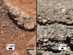 Curiosity vindt bewijs voor oude rivierbedding op Mars