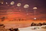 Huygens sonde stuiterde en schoof bij de landing op Titan