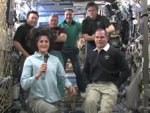 Suni Williams draagt scepter ISS over aan Kevin Ford