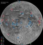 Maan ligt vol met afval van ruimtemissies
