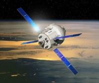 De Orion capsule met de Europese ATV-aandrijfmodule